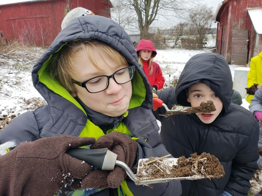 Learning that soil is alive!