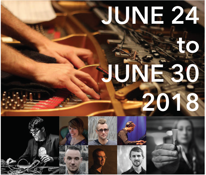 The SPLICE Institute's infectious enthusiasm was clear... No doubt the SPLICE Institute will continue to grow as a hub of contemporary electroacoustic performance.   - I Care If You Listen, August 2016
