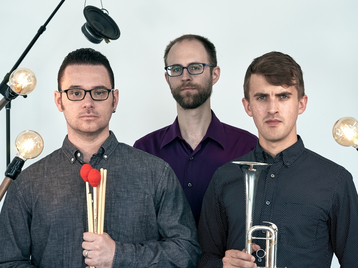 Ensemble - A trumpet, piano, and percussion trio focussed on cultivating a canon of the most important works composed for instruments and electronics.
