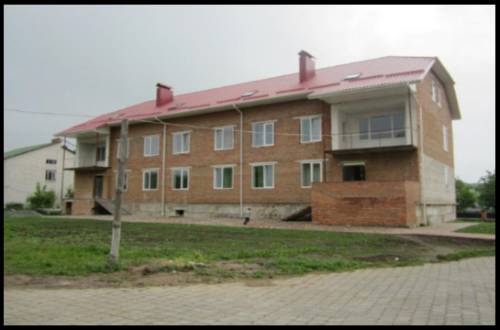 The Joshua House located in Litin