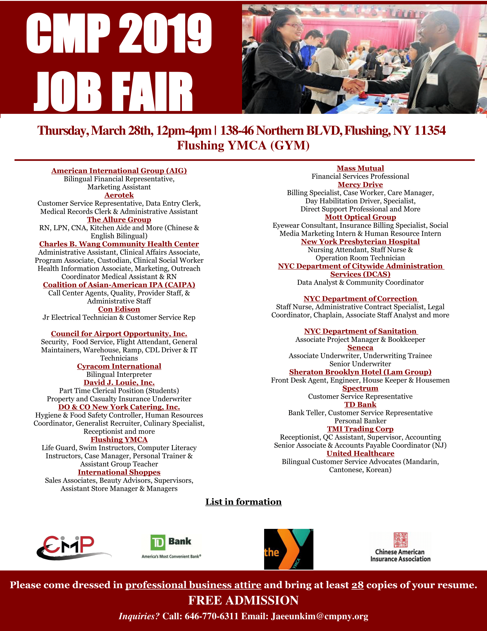 2019 Flushing Job Fair ENG.png
