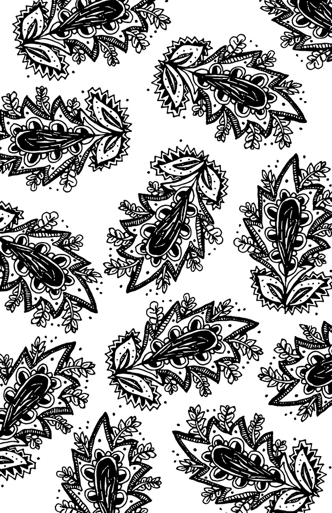 Paisley flower pattern- black web.jpg
