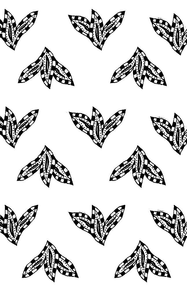 Black and white paisley leaf pattern v2 web.jpg