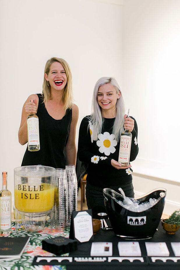Belle Isle moonshine cocktails for event