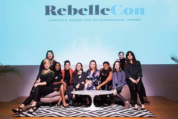 Conference photographer Sarah Der photographs RebelleCon 2017