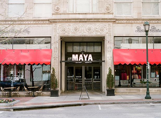 Maya Mexican restaurant in Richmond, Virginia - Sarah Der