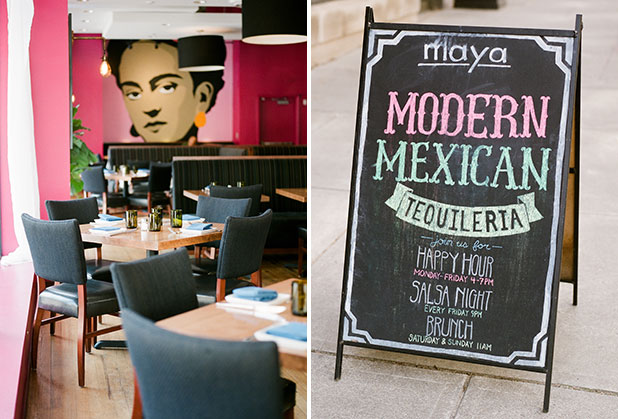 Richmond interior photography of Maya restaurant - Sarah Der