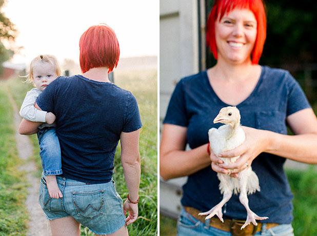 farm editorial shoot  - Sarah Der
