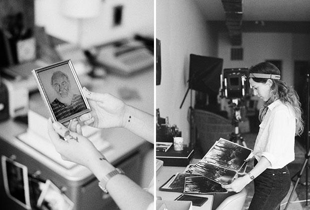 tintype process photos