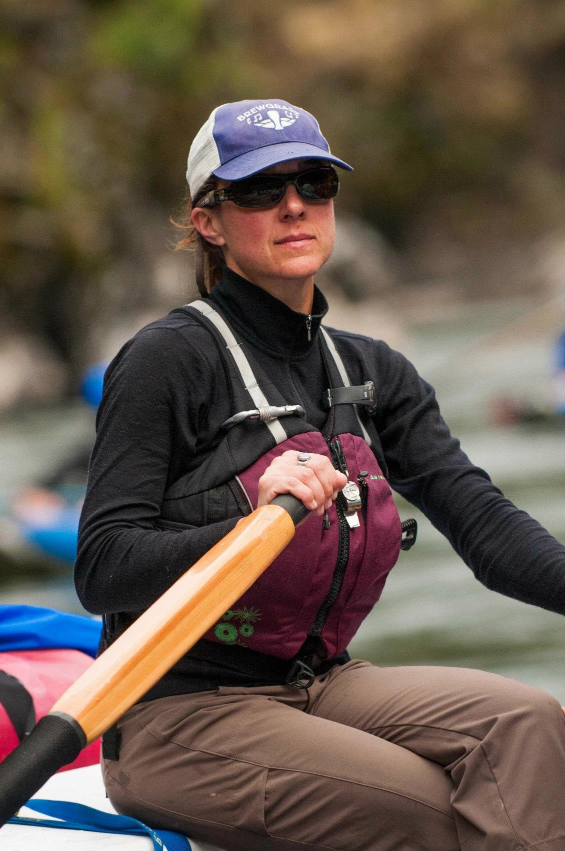 Robyn Janssen, Clean Water Campaigner and now Rogue Riverkeeper.