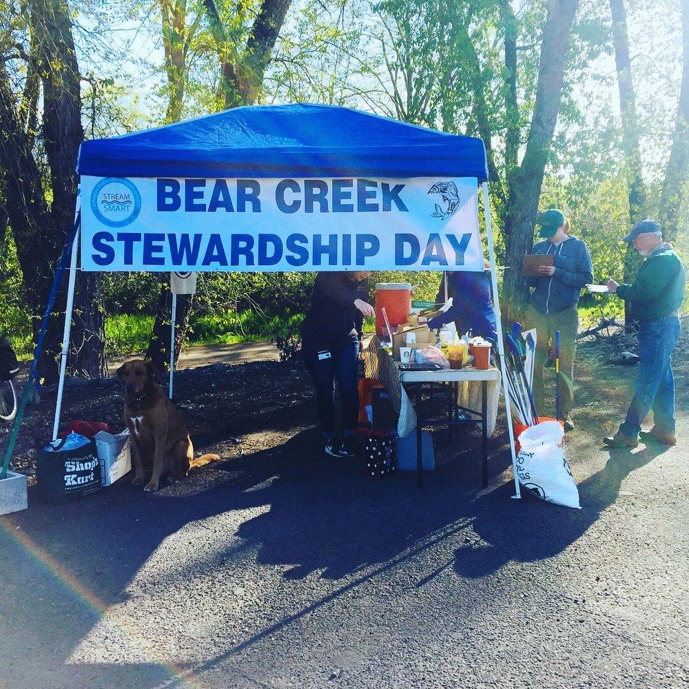 Bear Creek Stewardship Day