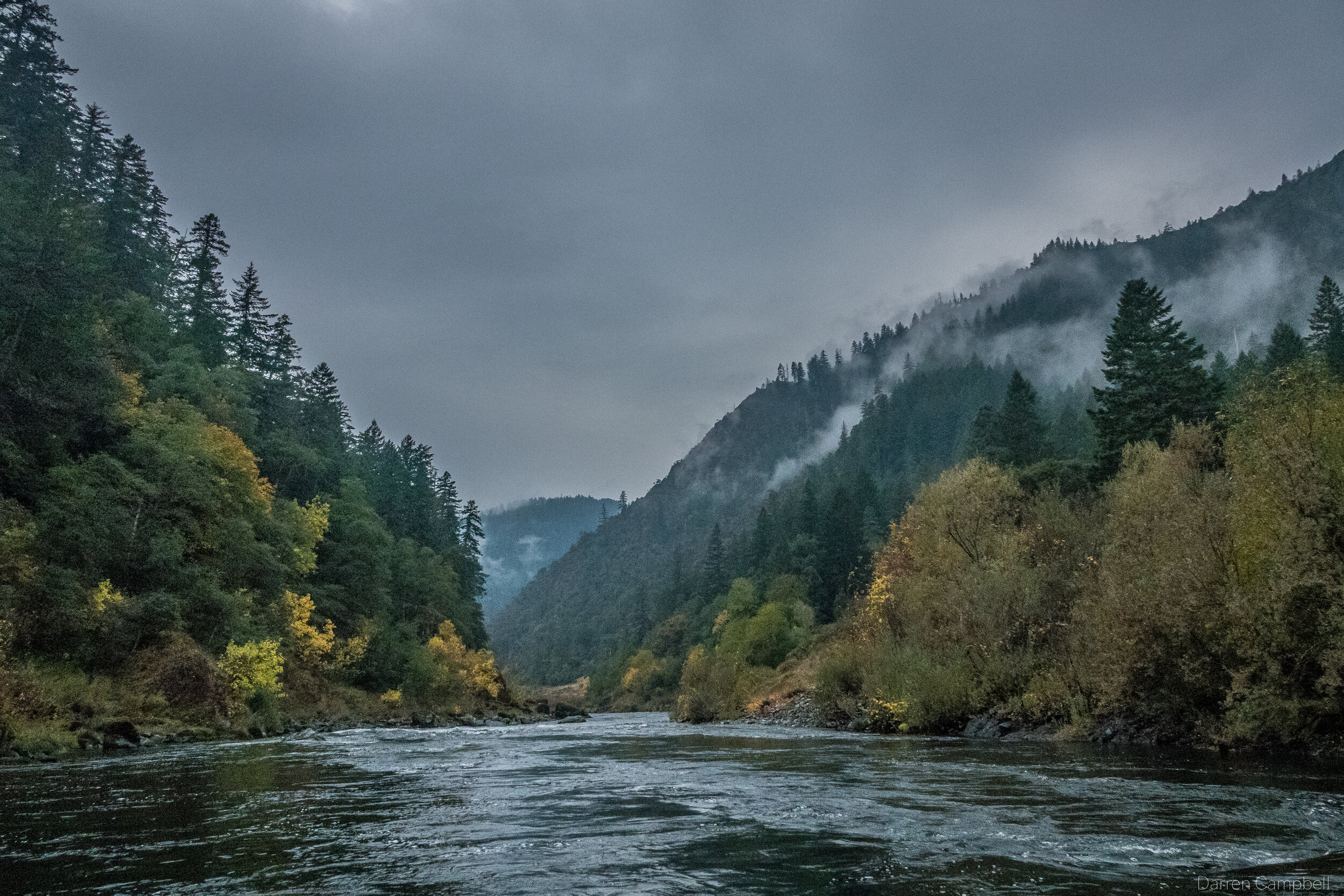 The Rogue River.