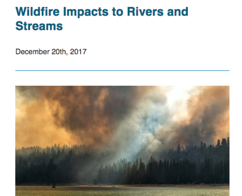 Wildfire Impacts to Rivers