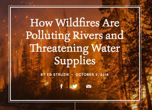 How Fires Threaten Water Supplies