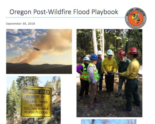 Post-fire flooding response