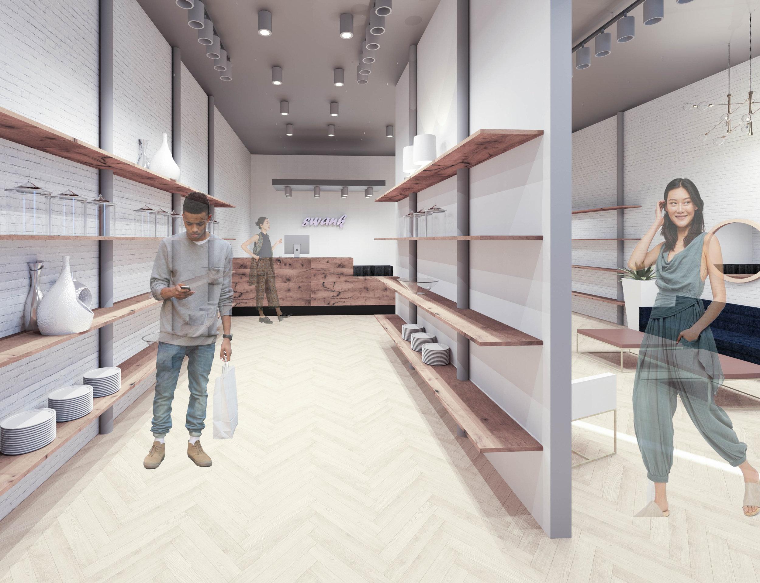 1st Floor: Entry/Shop