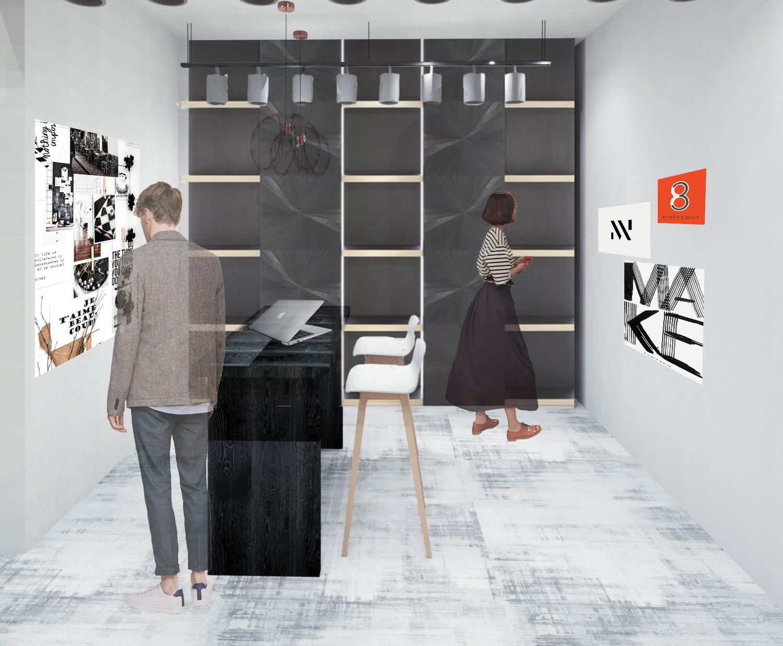 2nd Floor: Resource/Presentation Room