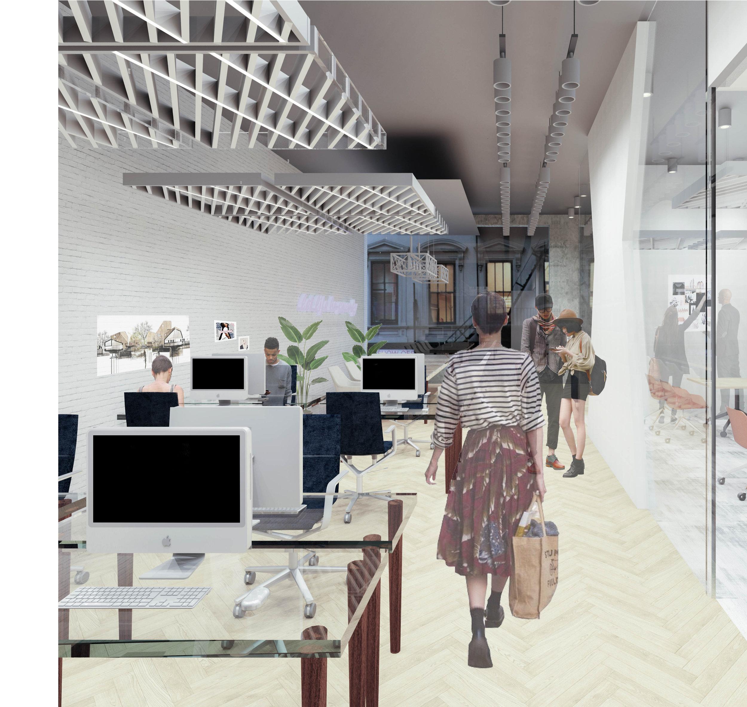 2nd Floor: Design Firm