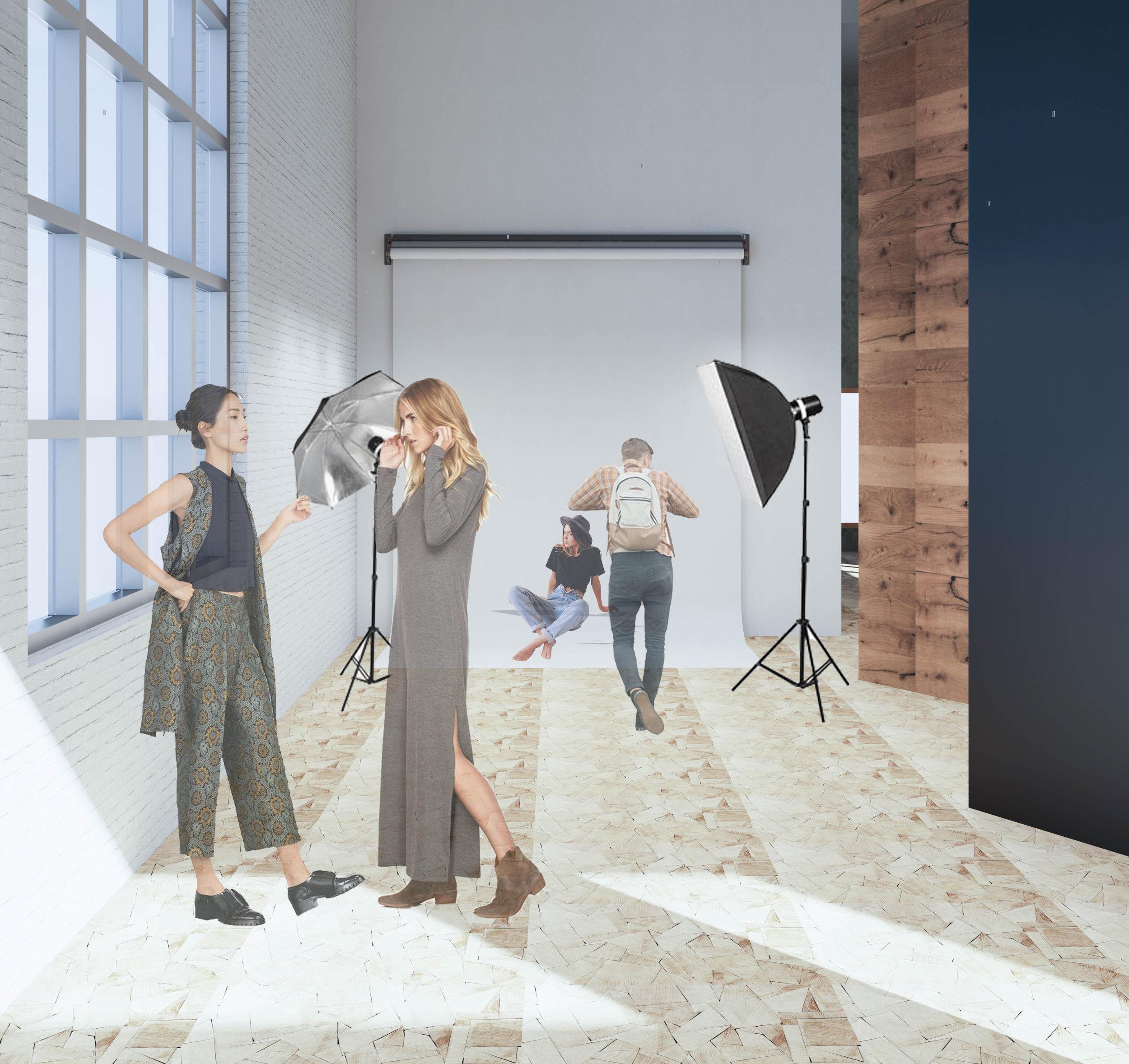 3rd Floor: Studio/Event Space