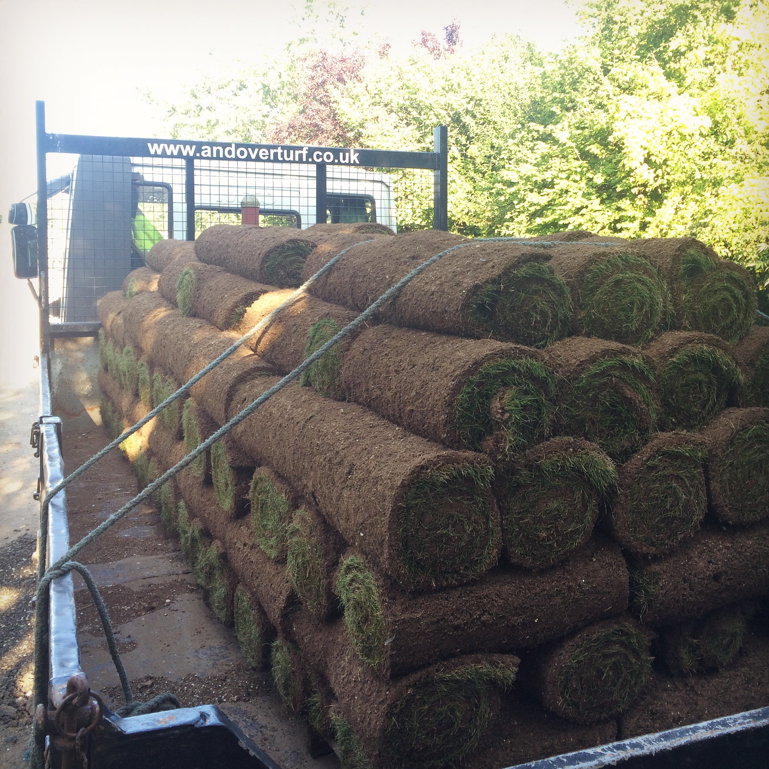 Andover Turf ready for dispatch