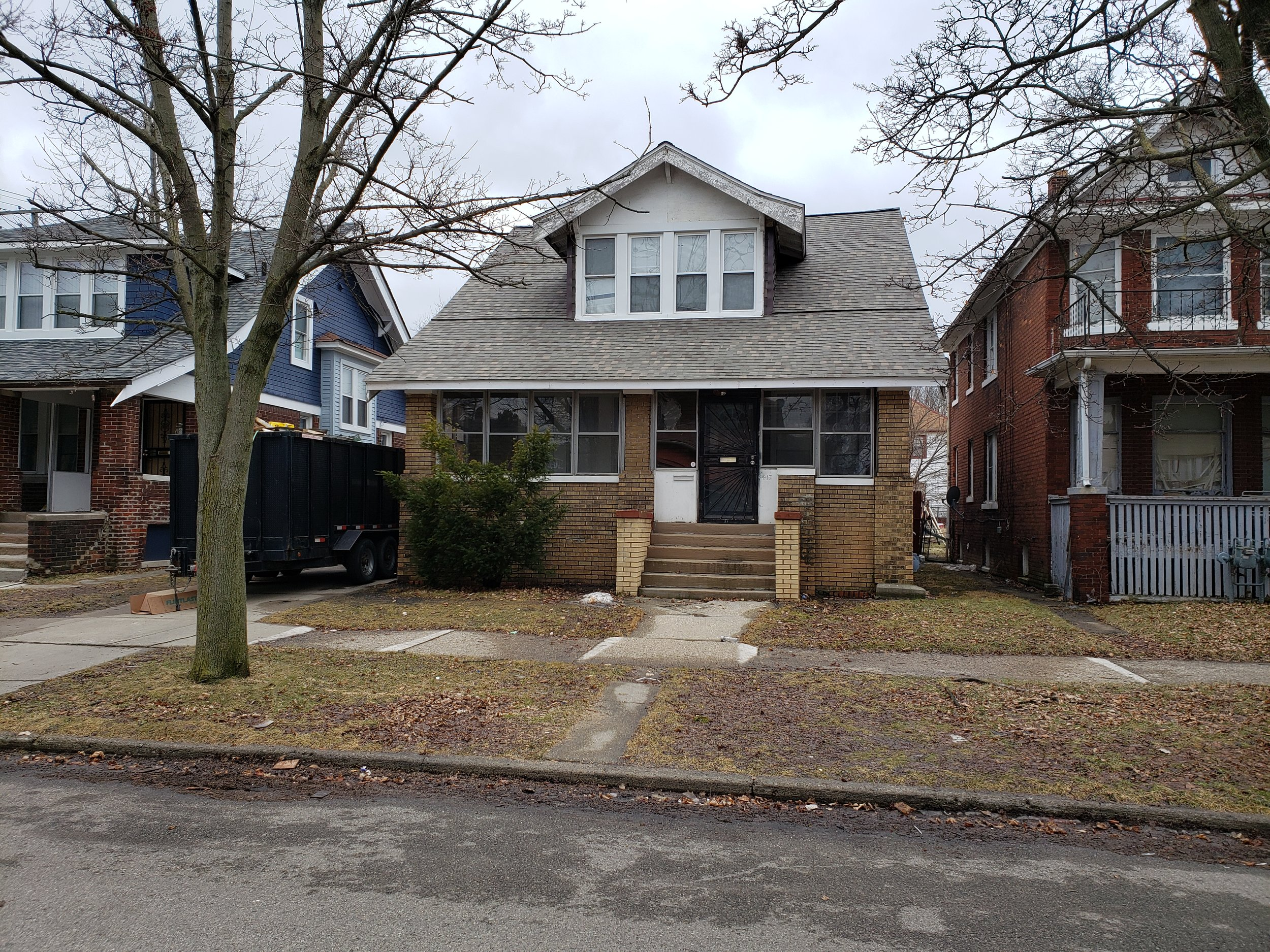 Bobbie's future home - Praise God for this enormous opportunity and for the family who has patiently spent years negotiating with the previous owner of the vacant home and graciously financed the renovations thus far! When MACC Development heard of their commitment we knew this was also a great opportunity to support Bobbie and we invite you to join us! The home is on a beautiful block in the Pingree Park neighborhood on a street where many of our MACC members already reside and raise their family.Work has already begun on the house, fixing burst pipes and getting the boiler up and running again. MACC Development is sending mission team volunteers over to the home for cleaning up trash, removing any remaining furniture, and scraping loose plaster/paint off the walls so they can be skim coated and repainted and we plan to send at least a 100 more over the course of the summer. While this drastically reduces the major labor cost in the renovation we also need financial donations to purchase materials.