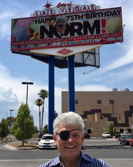 """July 8, 2017 was officially declared """"Norm Clarke Day"""" in Las Vegas!"""