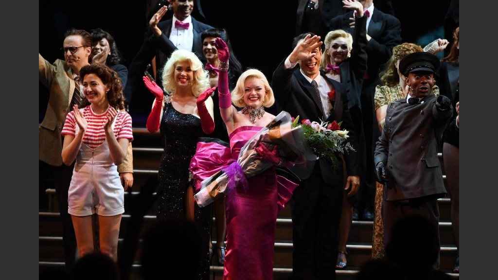 THE CURTAIN CALL CAME TOO SOON FOR THIS DELIGHTFUL SHOW. Photo: Denise Truscello