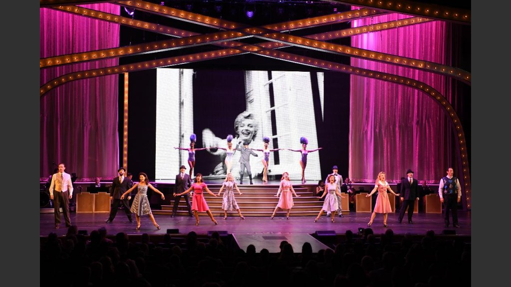 """MARILYN! THE NEW MUSICAL!"""" OPENED FRIDAY AT THE PARIS THEATER. Photo: Denise Truscello"""