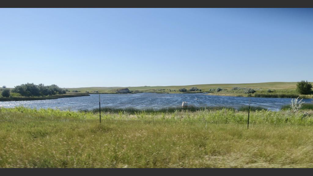Clarke Reservoir was built in the 1930s on my father's homestead with the help of neighbors and others.