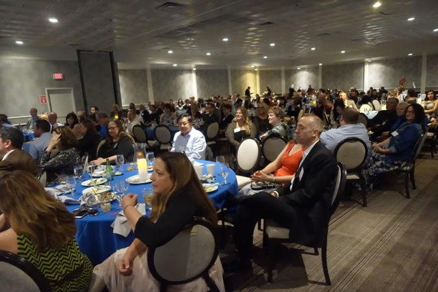 Crowd shot from the Nevada Press Association awards dinner. Photo: Norm Clarke
