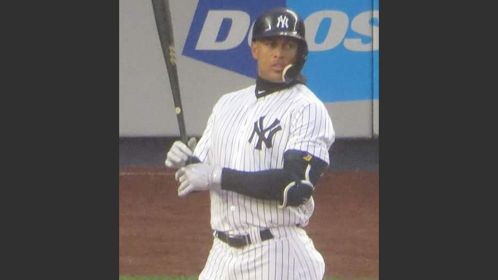 Giancarlo Stanton Photo: Wikimedia Commons