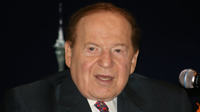 Sheldon Adelson   Wikimedia Commons