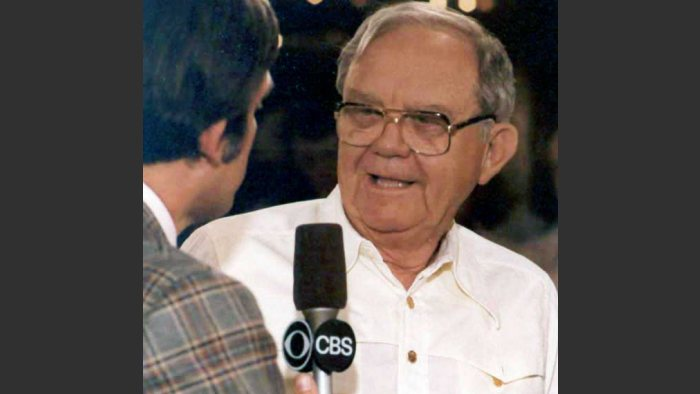 Benny Binion at the 1979 World Series of Poker. Wikimedia Commons