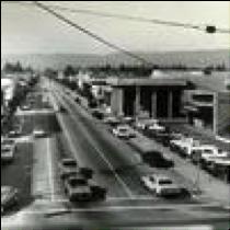 Santa Cruz Ave in 60s