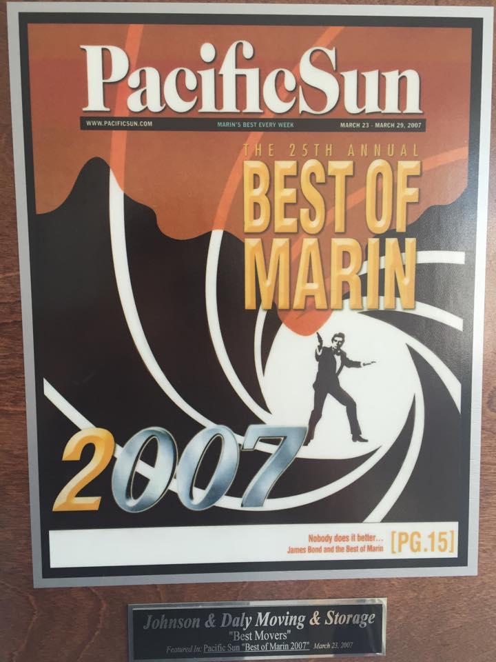pacific sun bet of marin 2007
