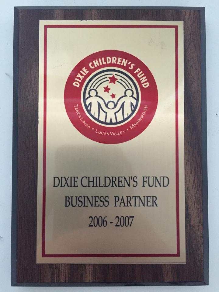 dixie children's fund business partner 2006 2007
