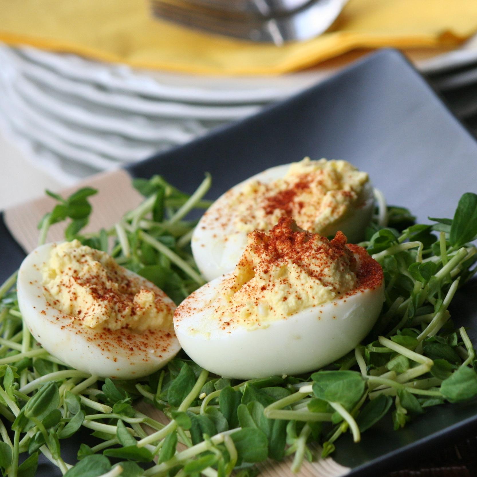 Skinny Deviled Eggs -