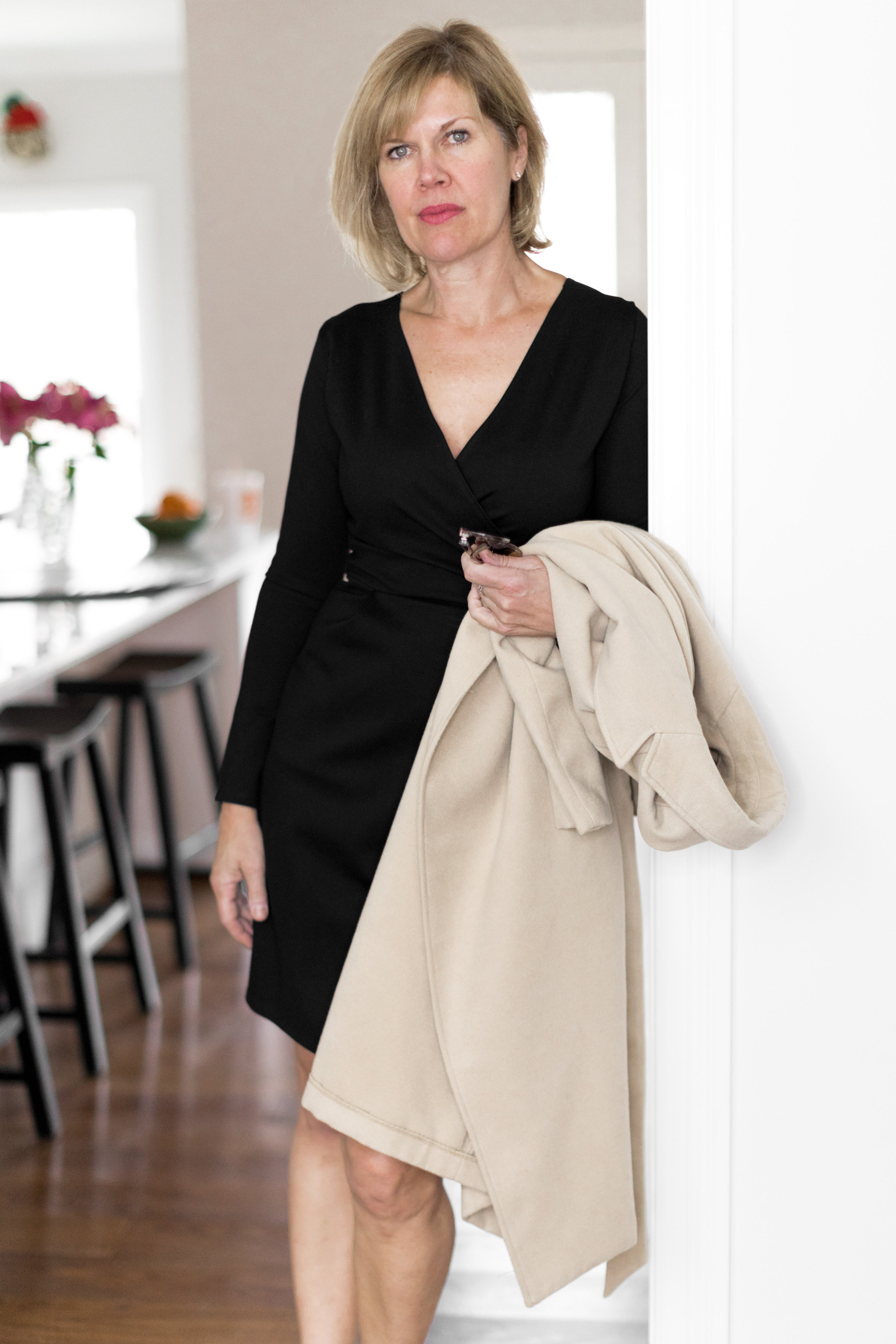Tall Faux Wrap Dress - Reviewed by ML