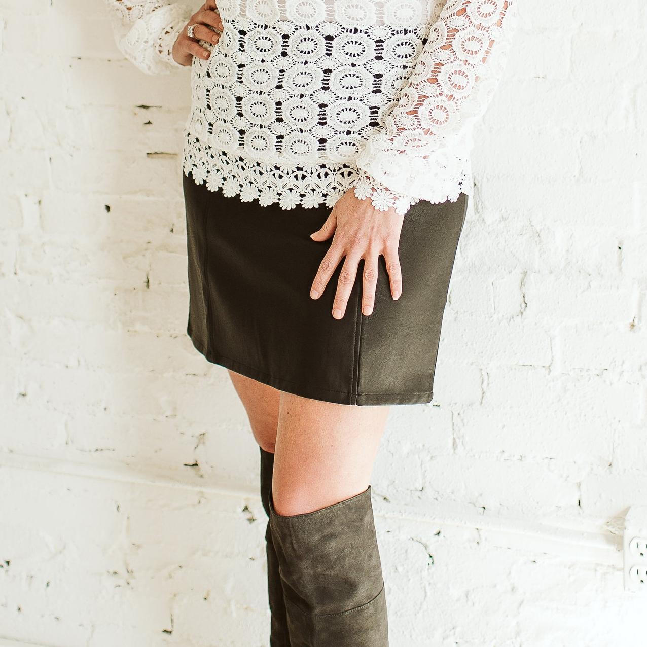 Leather Skirt for Tall Women.jpg