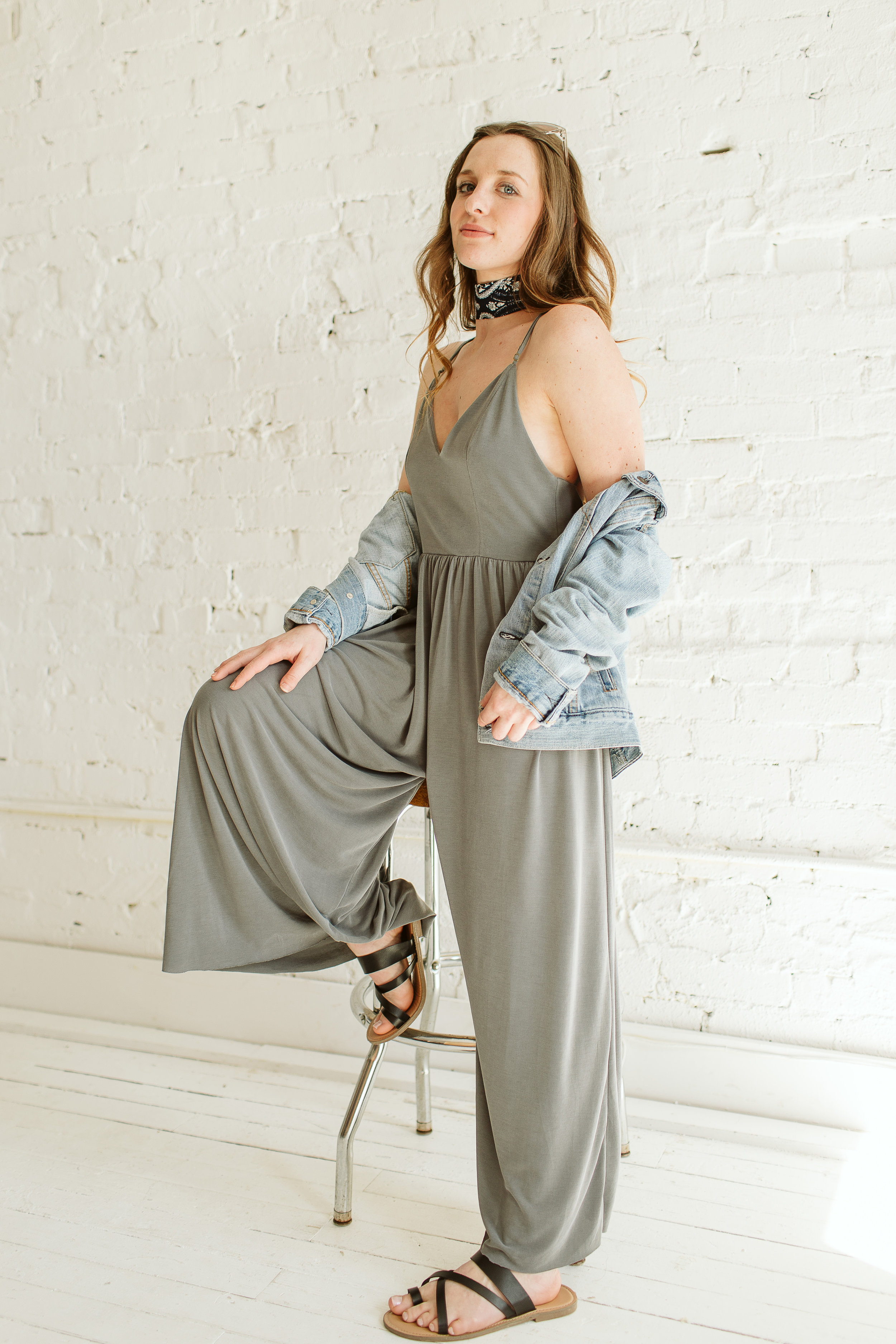 The Jane Jumpsuit.   $60  Available at Ella Jayms