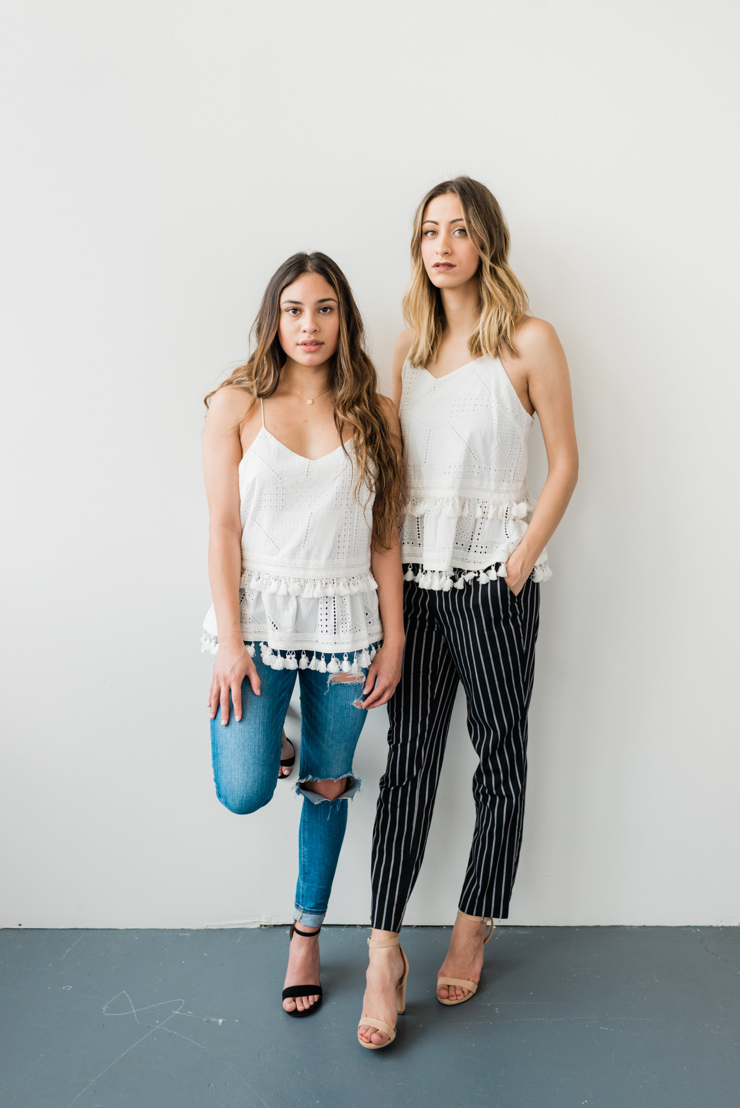 LACE AND TASSELS - These two go hand in hand so well, we count them as one. Feminine, trendy, and classic – you can't go wrong.