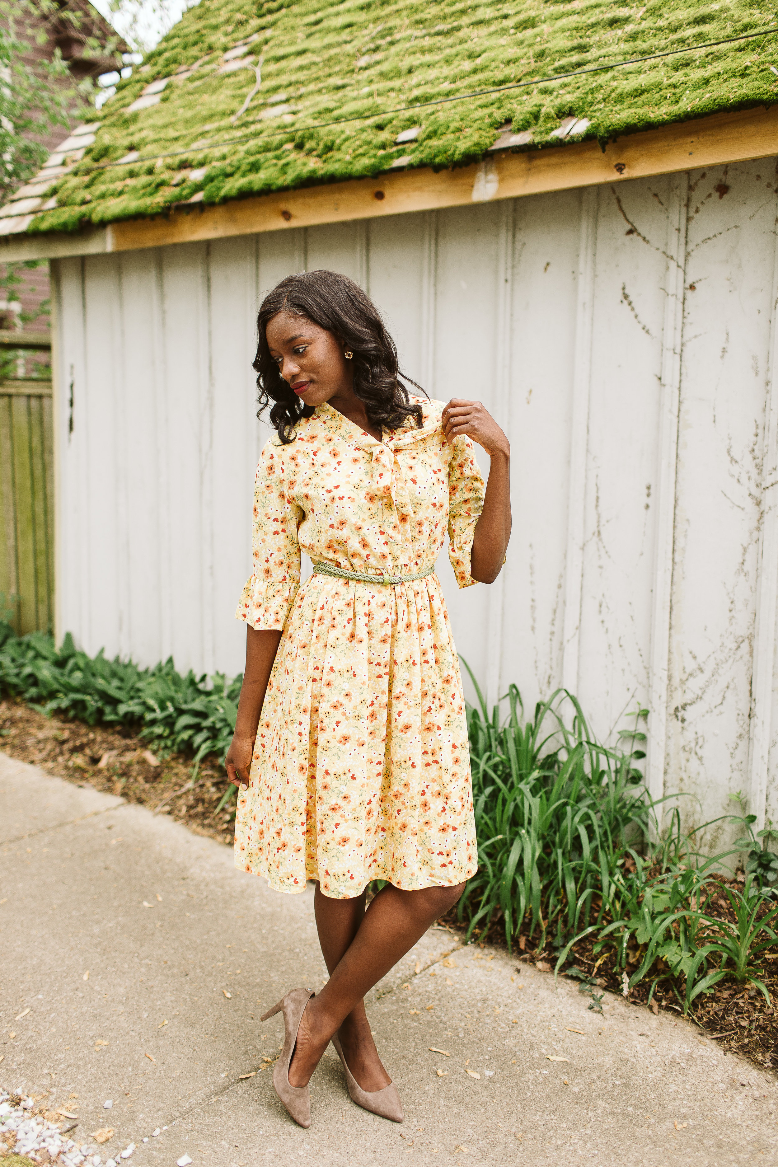 FLORAL - We can't forget the sunshine classic: floral. Try less obvious floral prints like the Mustard Babydoll Dress, where the minimal nature of the floral makes the look more chic.Right: Mustard Babydoll Dress, Simple Extravagance, $35.