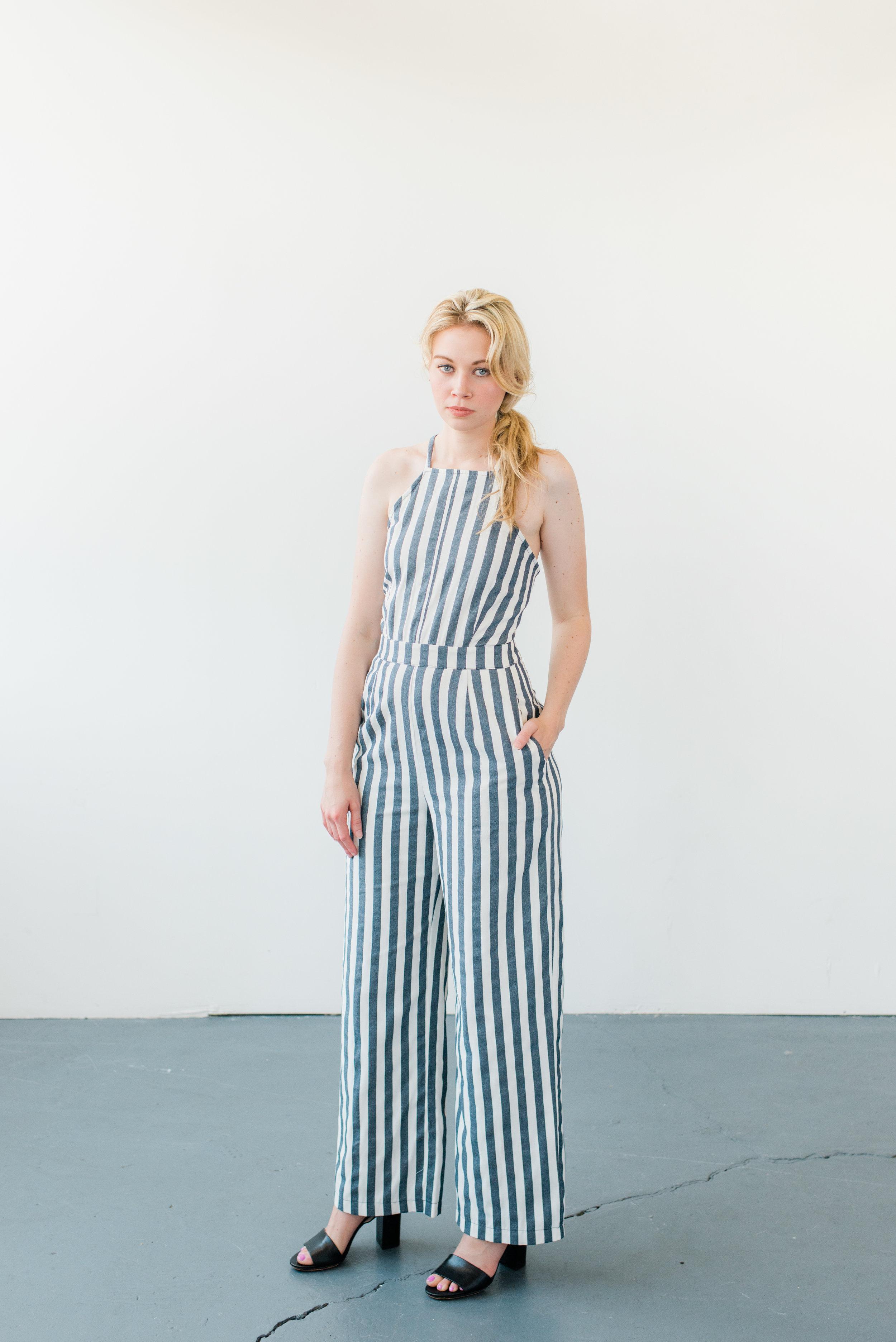 Striped Jumpsuit, Trend Boutique.