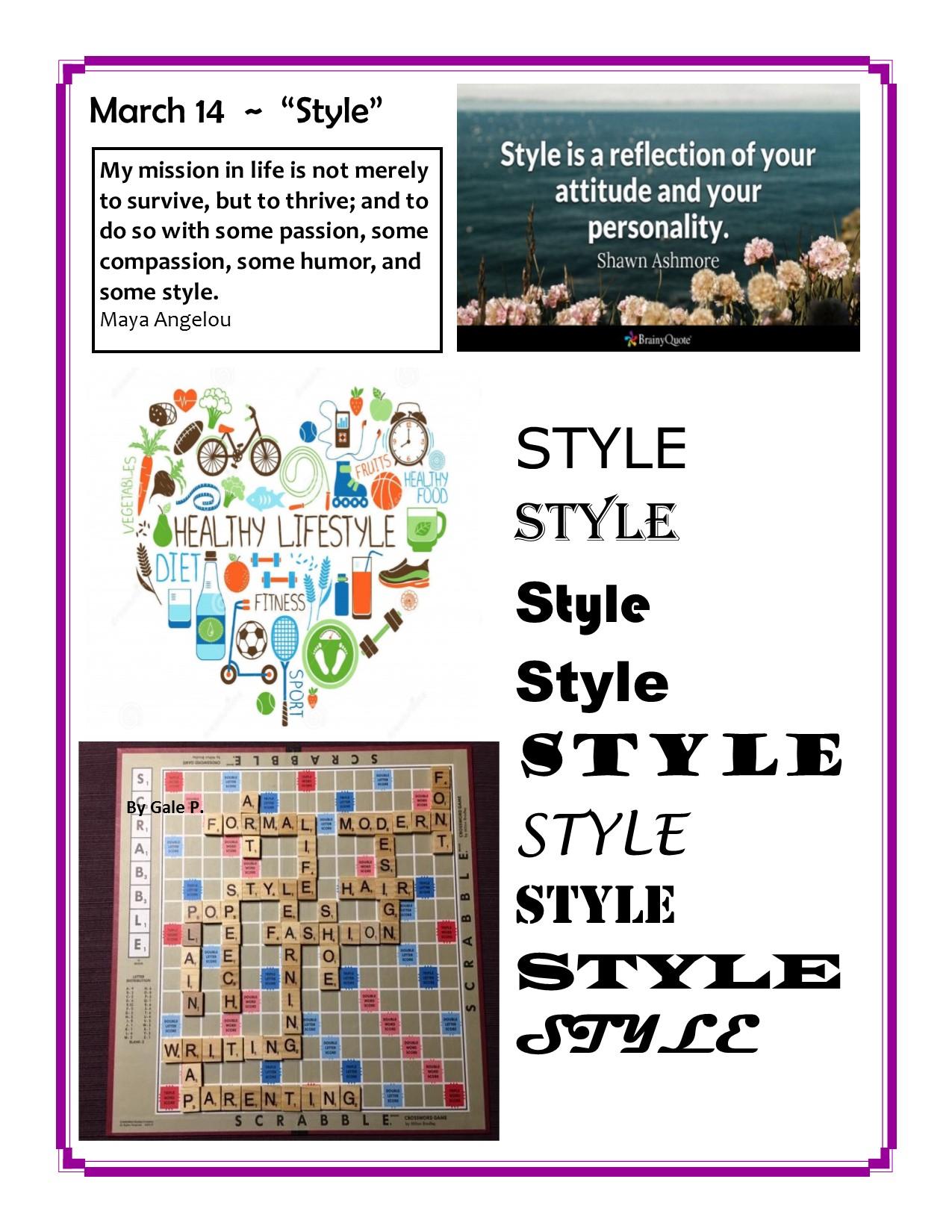 March 14, Style.jpg