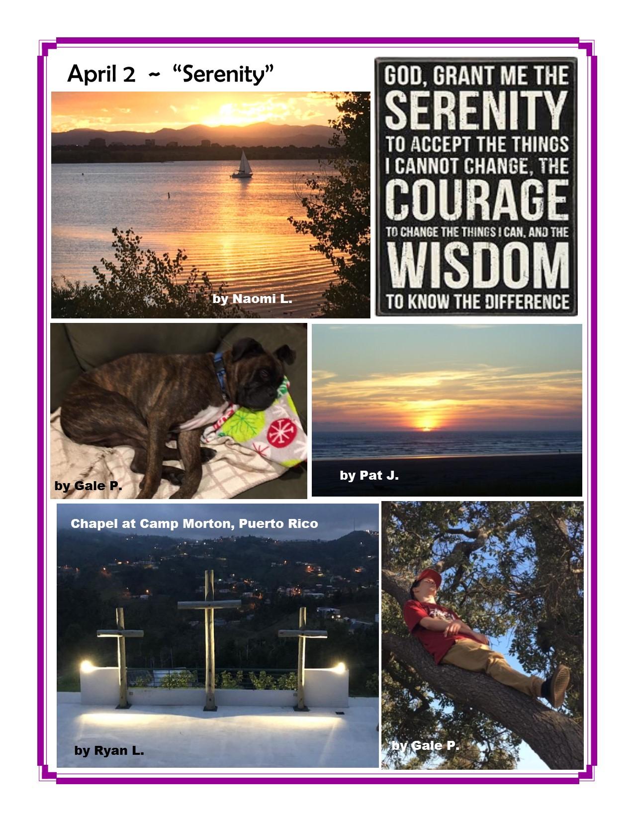 April 2, Serenity.jpg