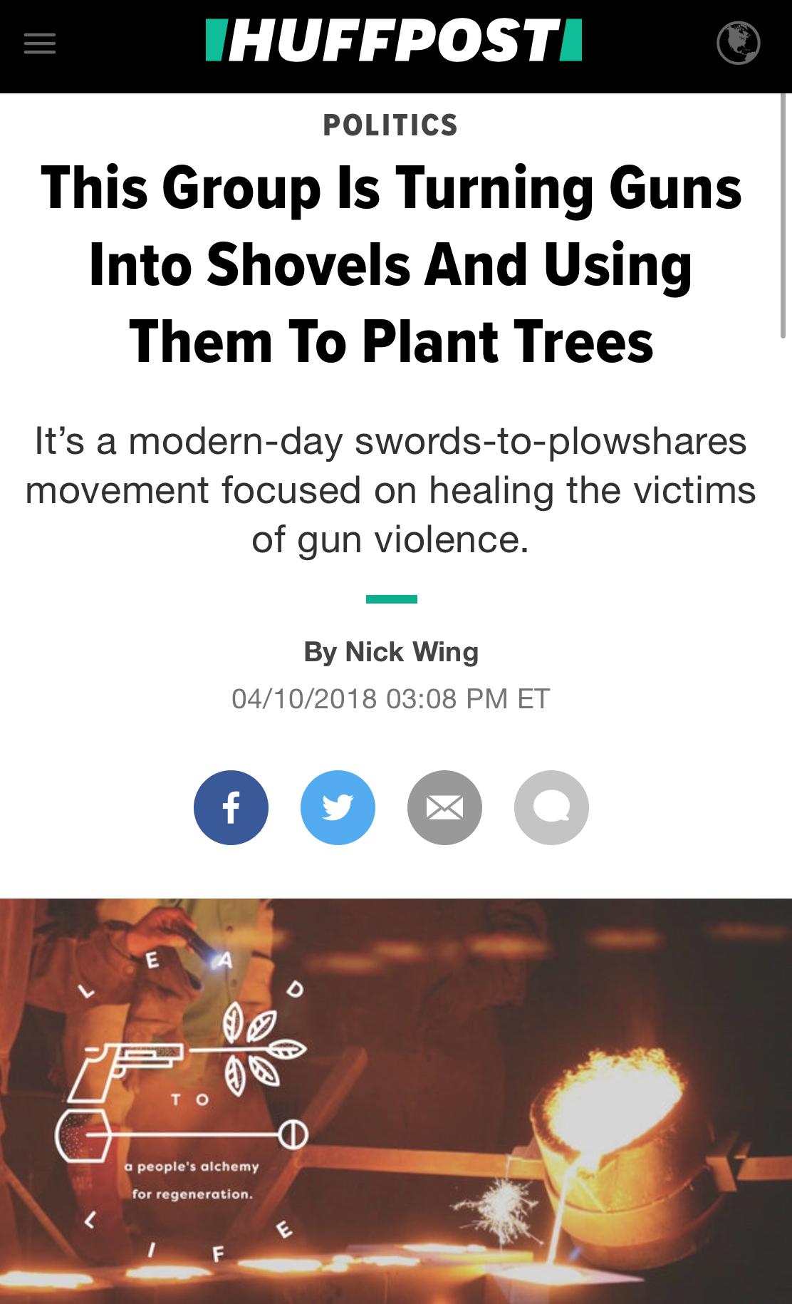 Huffington Post - April 2018