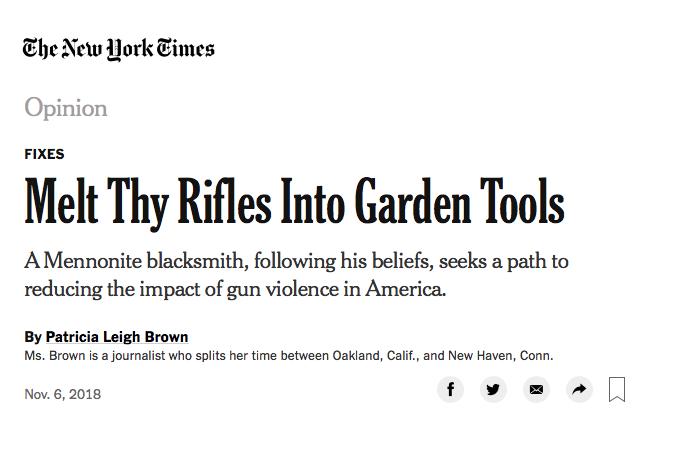 New York Times - Nov 2018