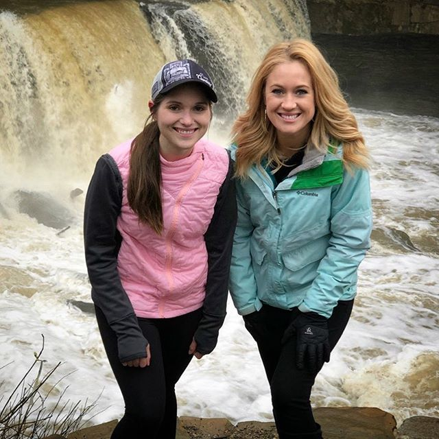 """""""Why do you run?"""" ✨ It's a question I get all too often. Today, I answered it for @shelbymillercbs and @cleveland19news and I'm currently working on a blog post to share my story with all of you. Because it's a good one. 💕 - Thank you to @shelbymillercbs and @cleveland19news for listening to my @clevemarathon story today! I'll let everyone know when it will air! And stay tuned for a powerful blog post this week! ✌️ - #runnersofinstagram #marathontraining #runcle #goodhuman @bebrightpink"""