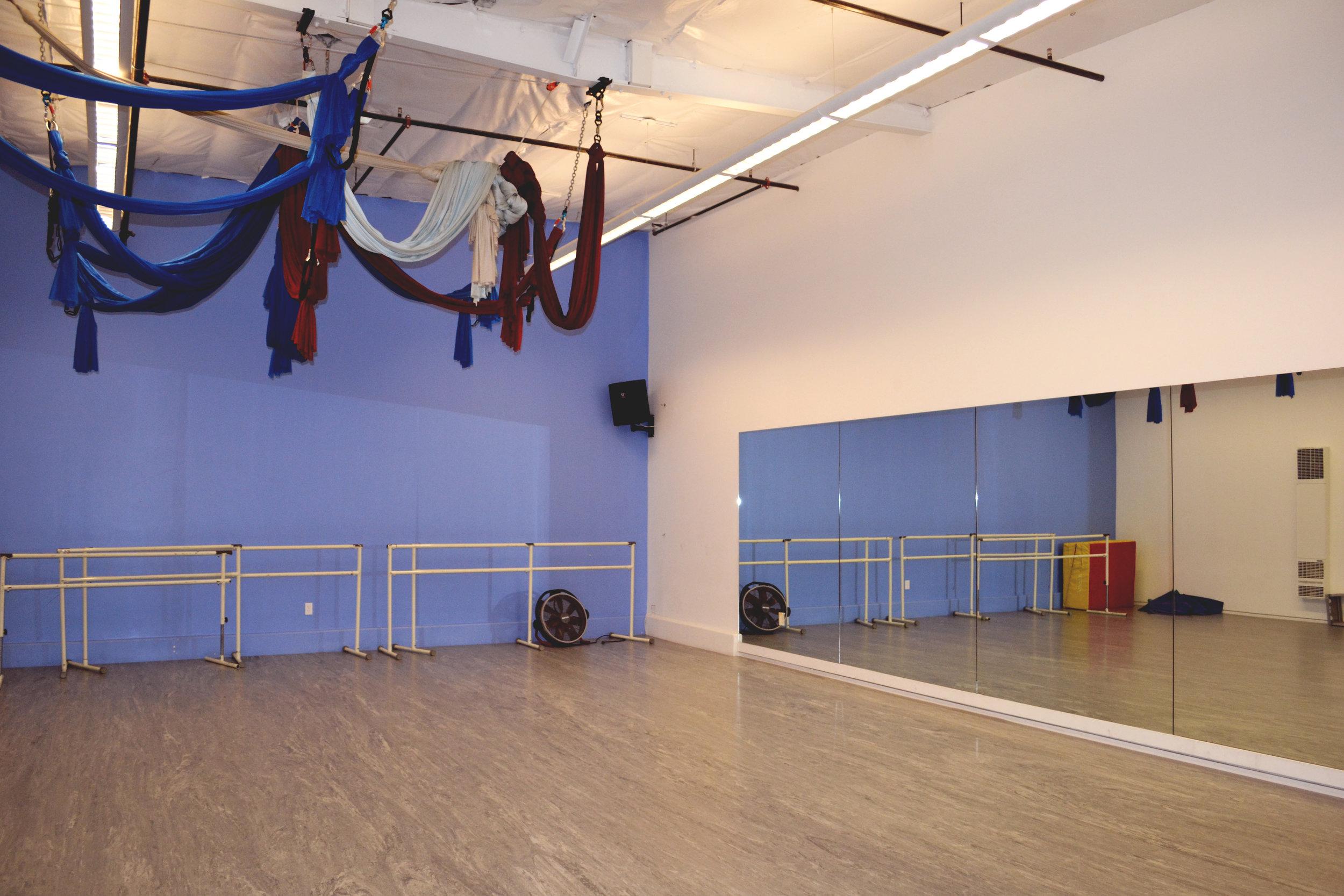 dance studio rental santa barbara