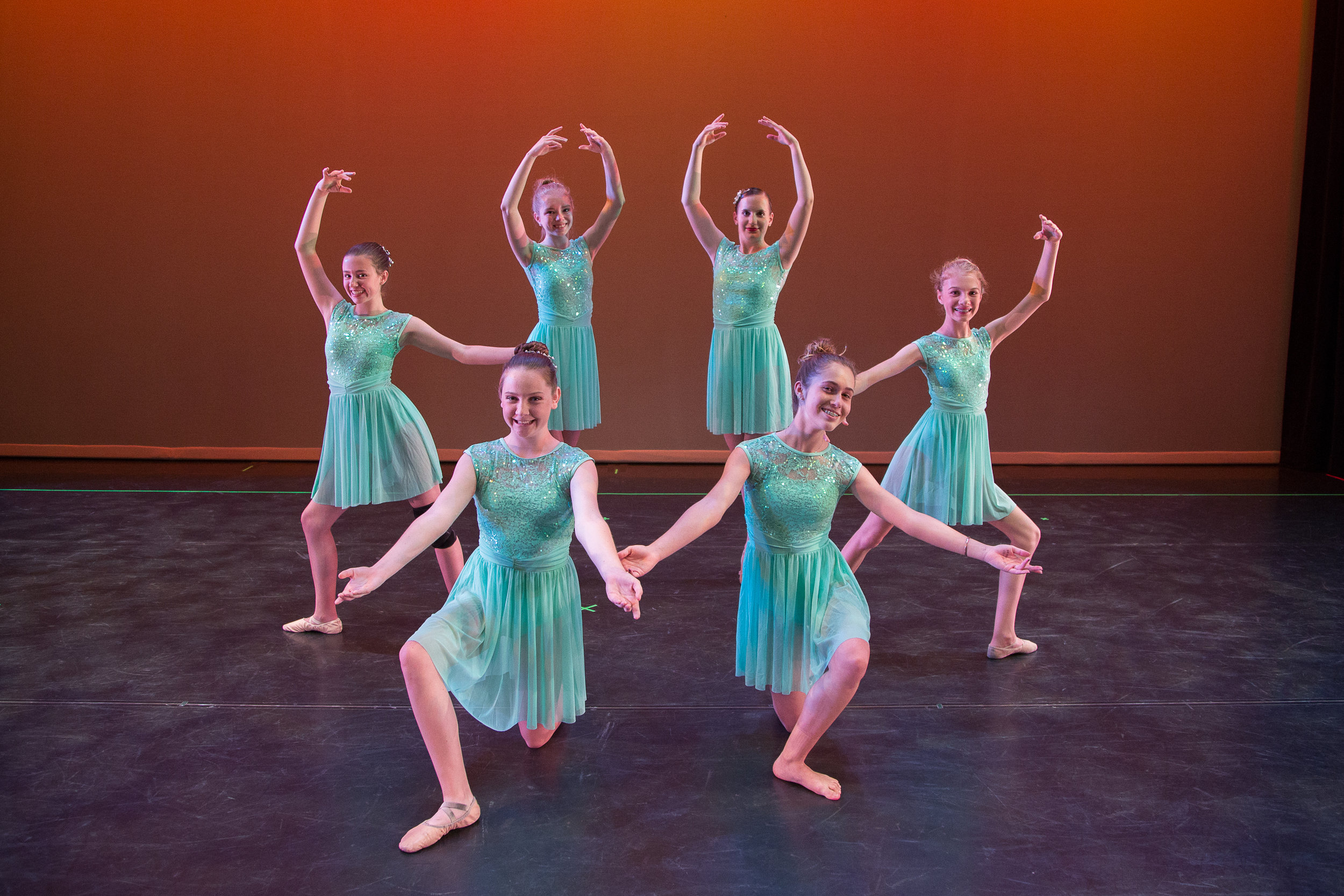 Lyrical and contemporary dance classes after school